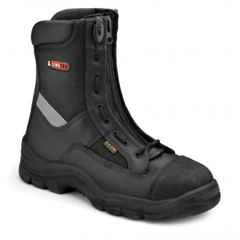 HIGH-VISIBILITY COMBAT BOOT FOR EMERGENCY SERVICES 391
